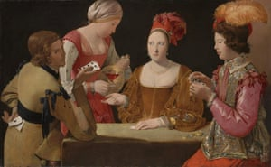 The Cheat with the Ace of Clubs, c1630-34 by Georges de la Tour.