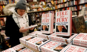 Fire and Fury depicts Donald Trump as a president who does not understand the weight of his office and whose competence is questioned by aides.