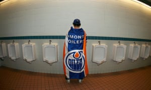 Edmonton Oilers bathrooms