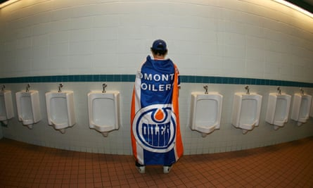 Edmonton Oilers bathrooms