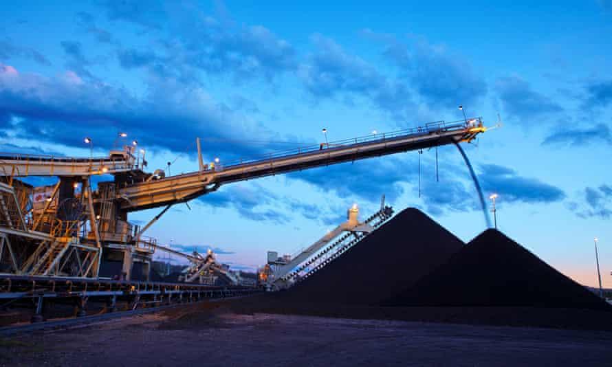 Rio Tinto Coal loading operations