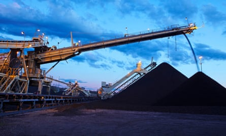 Coal being loaded in the Hunter Valley