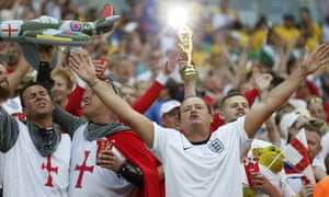 England fans at the World Cup in Brazil.