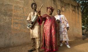 'We want to bring joy' … Trio Da Kali.