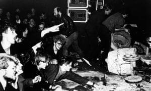 I predict a riot … a 1984 Einstürzende Neubauten gig in London.