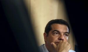 Greek prime minister Alexis Tsipras.