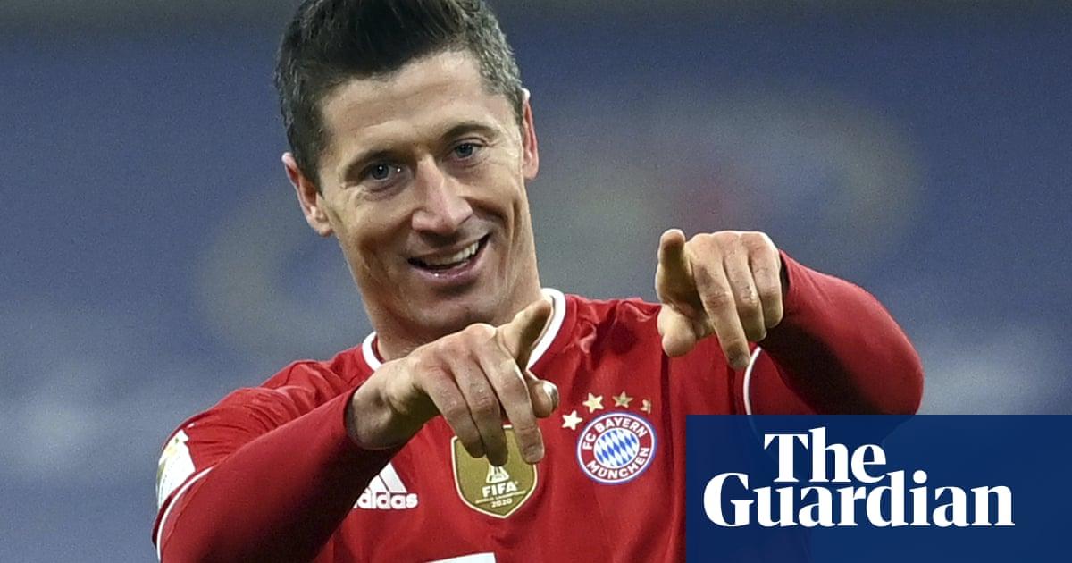 Lewandowski hits hat-trick in Bayern's comeback triumph against Dortmund