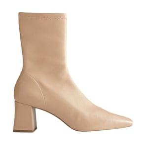 Beige boots, £59.99, zara.com.