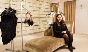 'People think E is the biggest size there is': Josie Fellows, apprentice bra fitter at Rigby & Peller.