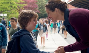 'Accurate portrayal' ... Jacob Tremblay and Julia Roberts in Wonder.