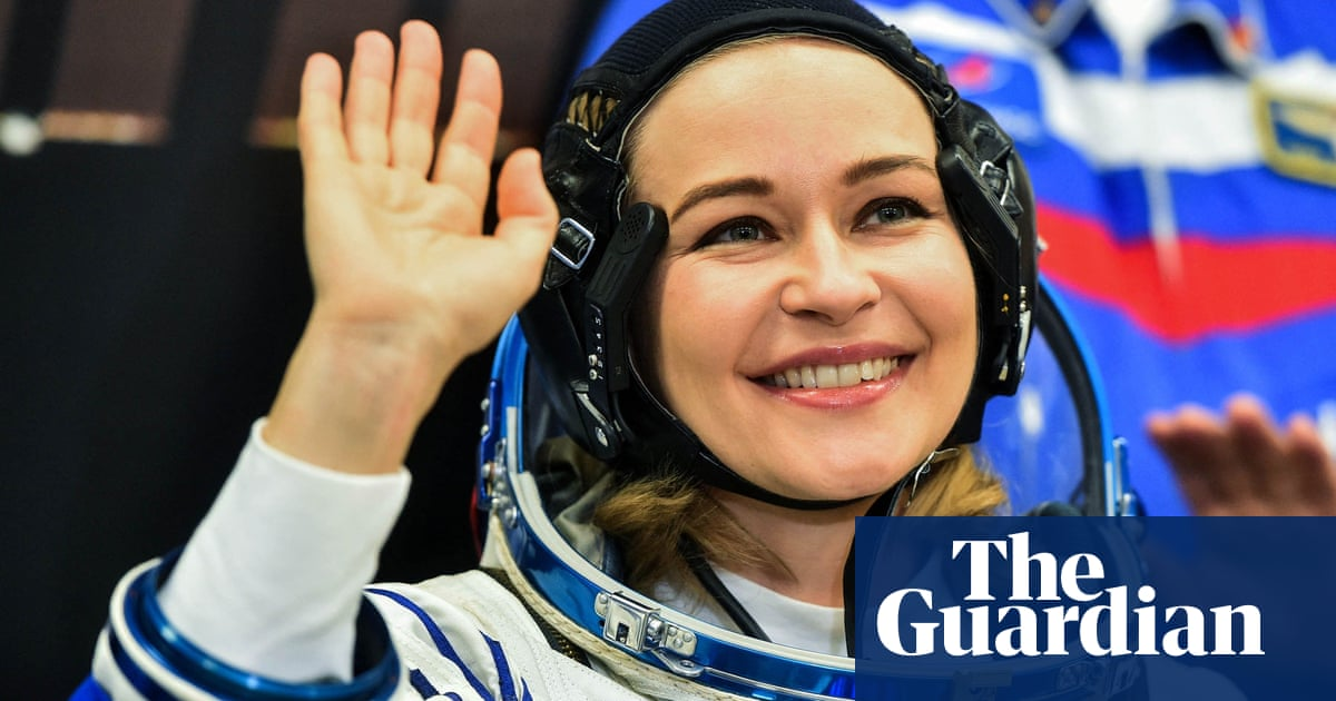 Russia sends actor and director to ISS to make film in space – video