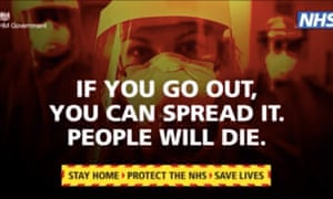 NHS public information advert during coronavirus pandemic