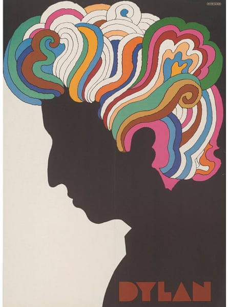 Dylan, Milton Glaser, 1967.