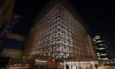 The Europa building in Brussels