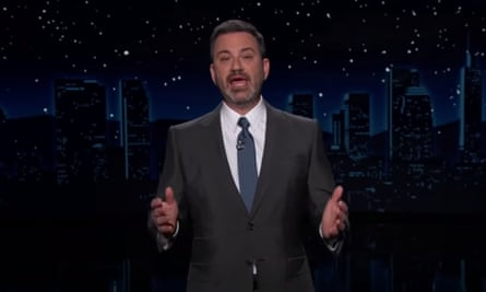 'Trump is so desperate for attention, he's doing every show, he's doing shows I've never heard of' ... Jimmy Kimmel