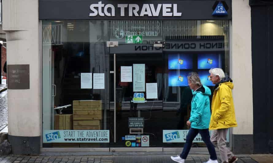 STA Travel agency