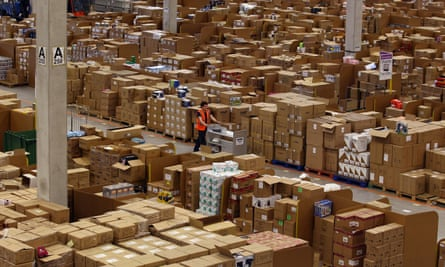 An Amazon 'fulfilment centre'.