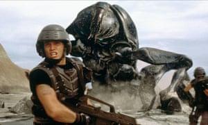 'It's an idiotic story' … Casper Van Dien in the 1997 film.