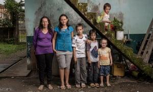Family in Equador