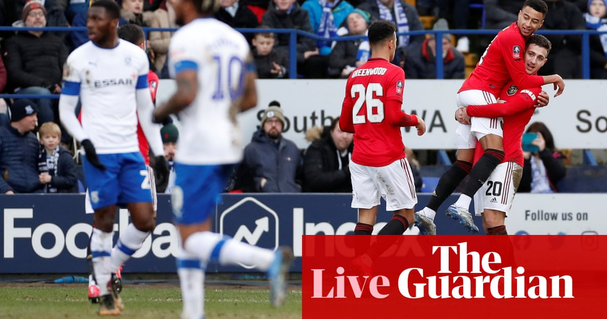 Tranmere Rovers v Manchester United: FA Cup fourth round – live!
