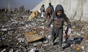 A child in Kabul, Afghanistan