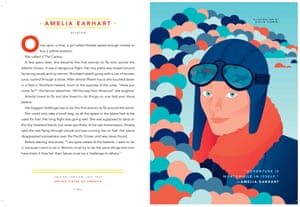 excerpts from book Goodnight stories for Rebel girls. PR handout