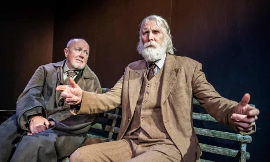 Niall Buggy and David Threlfall in The Old Tune from the Beckett Triple Bill.