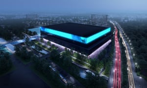 Artist's impression of the proposed new Manchester arena