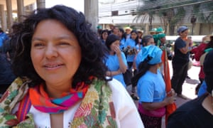 Berta Cáceres Honduras murder