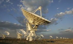 The Very Large Array observatory in New Mexico