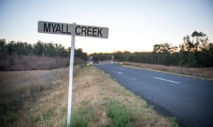 Myall Creek in Australia, the site of the massacre on 10 June 1838.