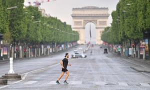 People Feel A Bit Nervous France Braces For End Of Lockdown World News The Guardian