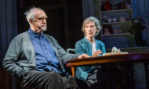 Jonathan Pryce and Eileen Atkins in Florian Zeller's The Height of the Storm.