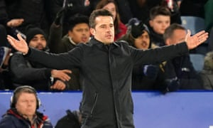 Marco Silva's Everton go into Wednesday's game two points above the relegation places.