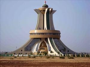 Ouaga's famous landmark.