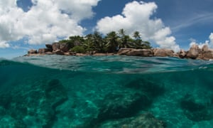 The parks cover 15% of the Seychelles ocean.