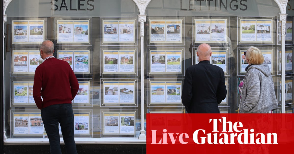 UK house prices jump in August despite stamp duty holiday winding down – business live