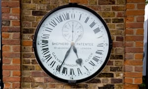 The Shepherd gate clock at the Royal Observatory Greenwich