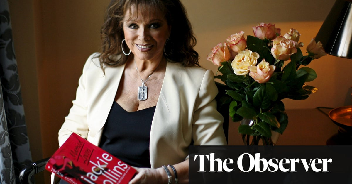 Jackie Collins: the reality of life in Joan's shadow