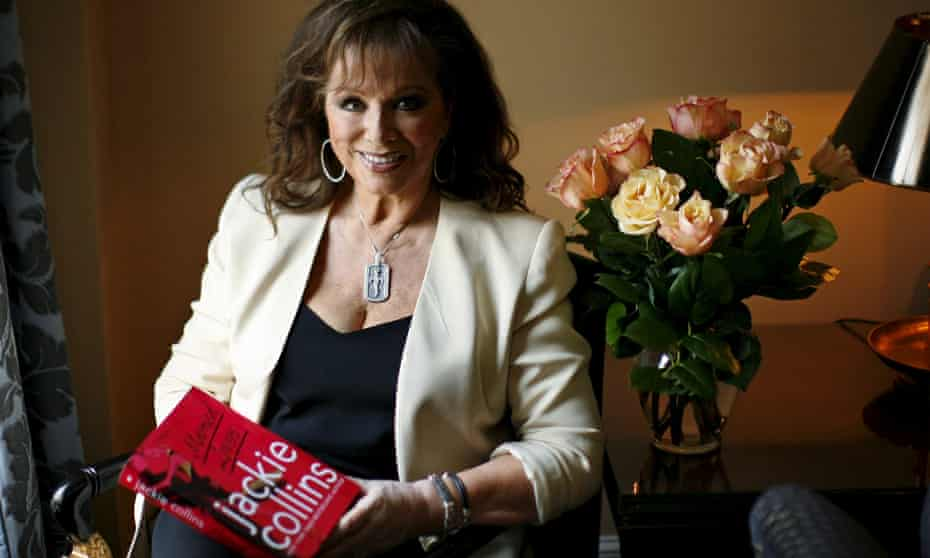 Jackie Collins in 2008