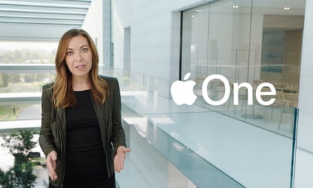 Lori Malm announces new Apple One subscription services.