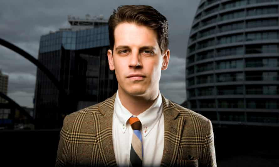 Milo Yiannopoulos, tech editor at Breitbart.