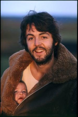Paul and Mary. Scotland, 1969