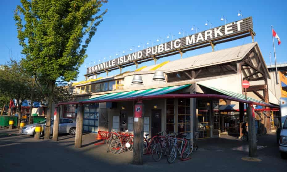 Theft hotspot … Granville Island's public market, Vancouver.