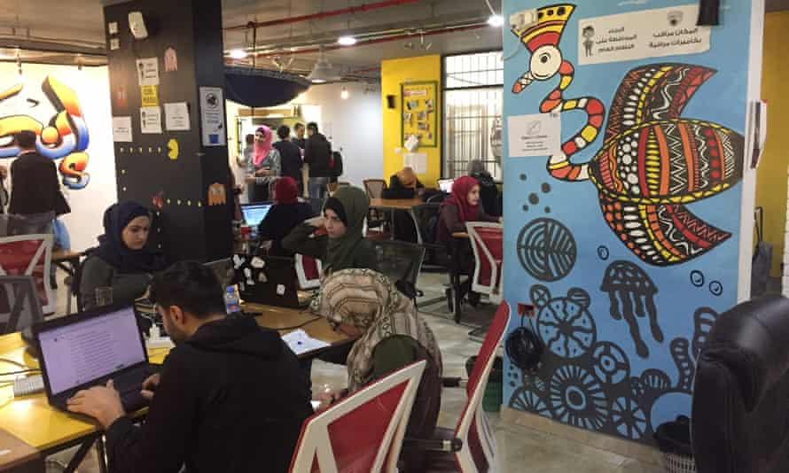 Inside the Gaza coding school