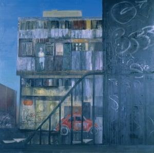 Roman by Jock McFadyen, 1992-3