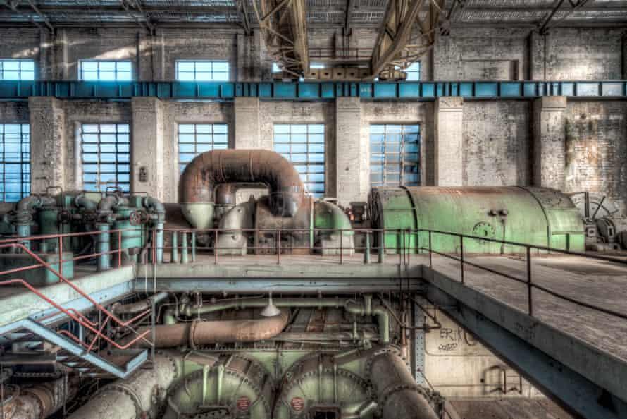 The White Bay turbine hall