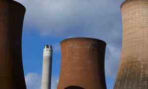 Rugeley Power Station in Staffordshire. Engie has closed the coal powered facility which will be demolished in phases through until 2021.