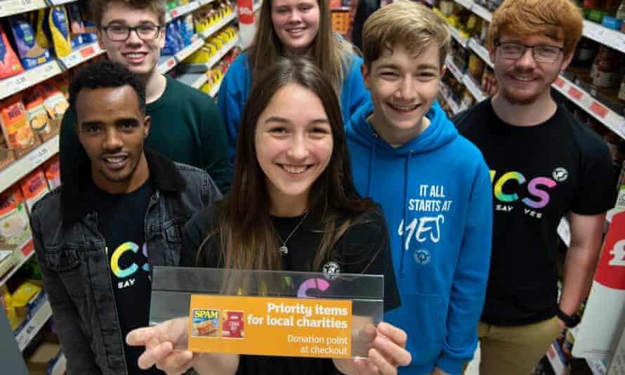 A group of teenagers working on a summer social project in Exeter came up with the labelling idea.