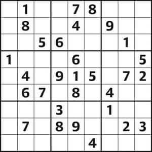 Image result for Sudoku